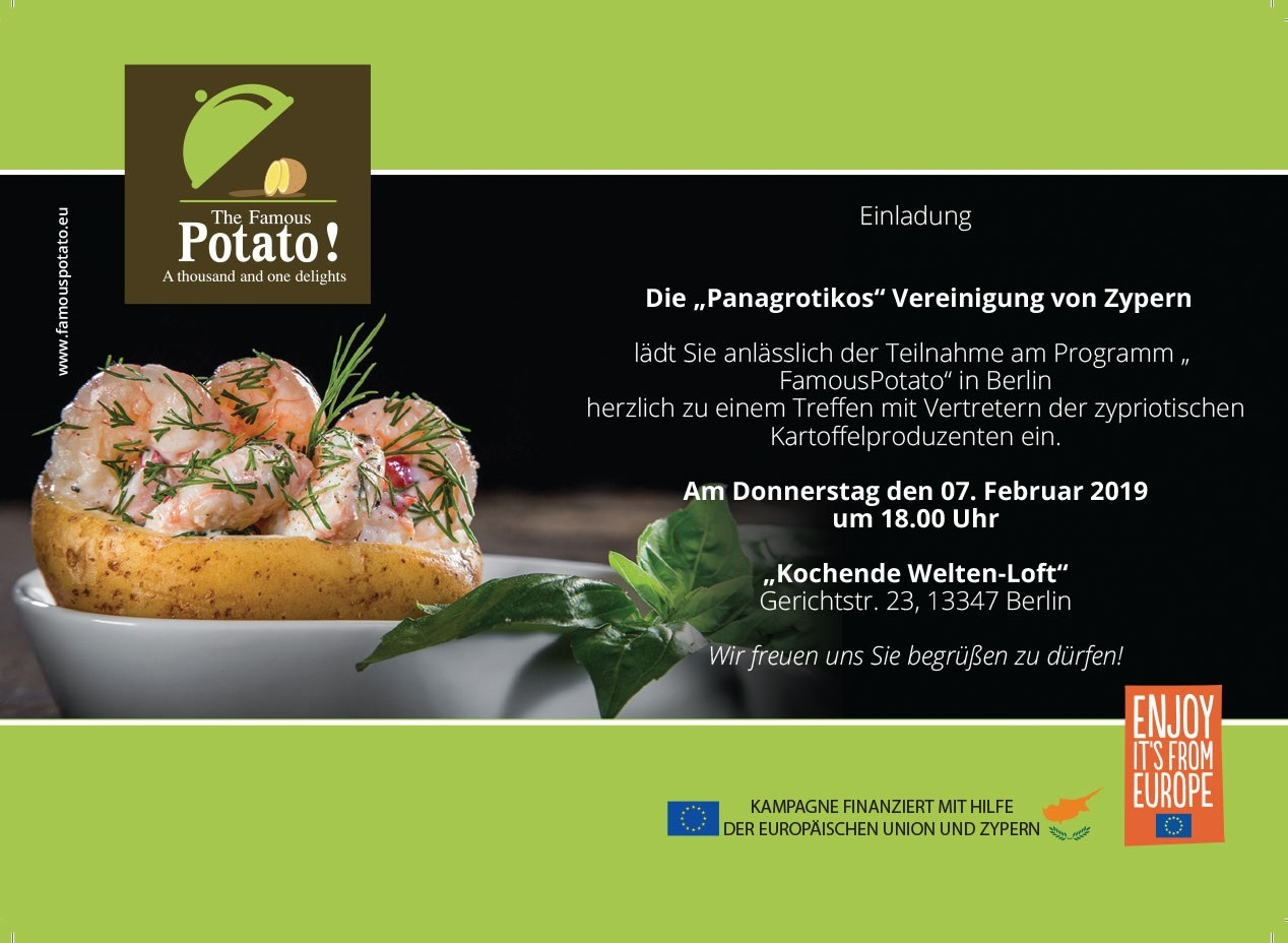 Eindung Famous Potato Berlin 07.02.2019 NETWORKING
