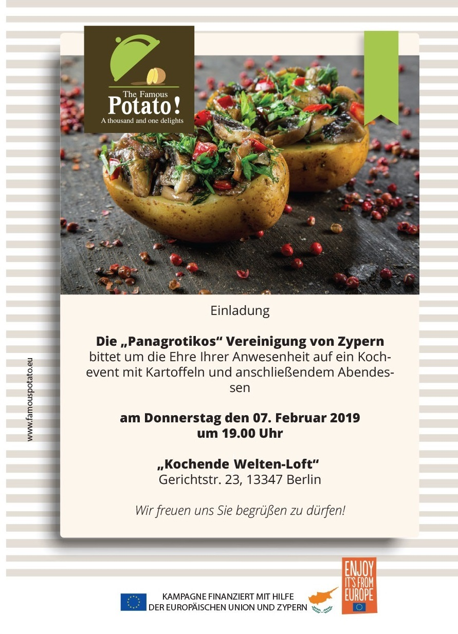 Eindung Famous Potato Berlin 07.02.2019