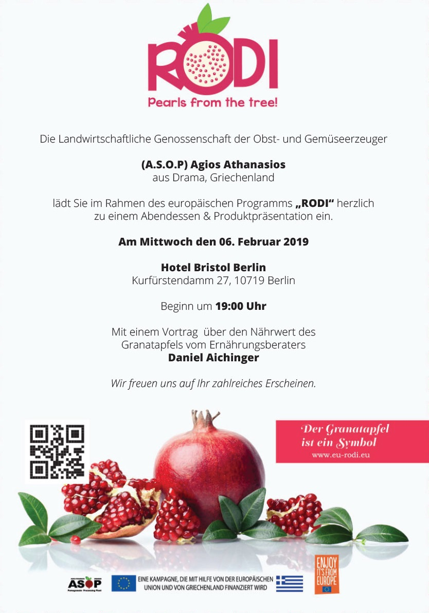 Einladung RODI Berlin 06.02.2019